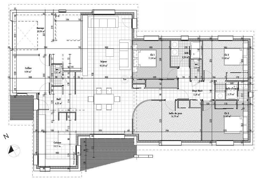 Plan maison - Le triskell au pays de la croix occitane par GaYa2931