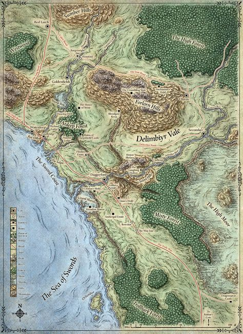 Image Result For Lost Mine Of Phandelver Maps Dnd World Map Fantasy World Map Imaginary Maps