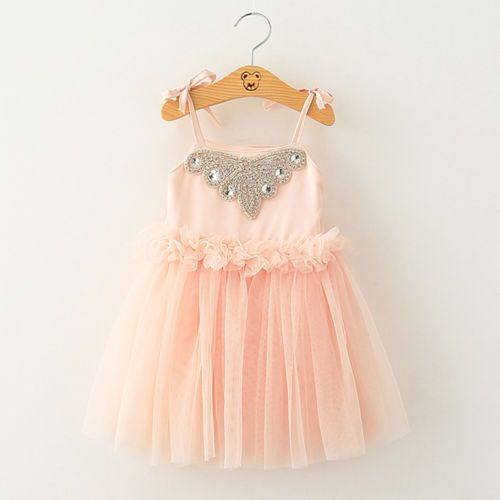 Toddler-Kids-Girls-Princess-Dress-Tulle-Tutu-Skirt-Party-Summer-Dresses-Sundress
