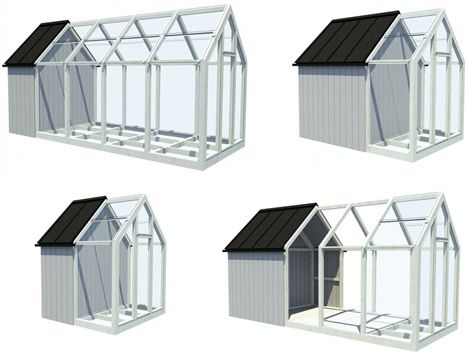Rearrangeable Pop Up Garden Shed