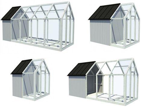 rearrangeable pop up garden shed