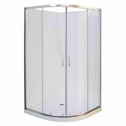 NOUVEAU BATHROOMS CALAIS CORNER SHOWER ENCLOSURES 1010 x ...