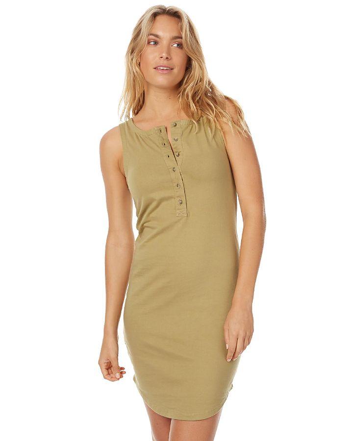 180c5513806 Zulu And Zephyr Dew Slip Womens Dress - Khaki