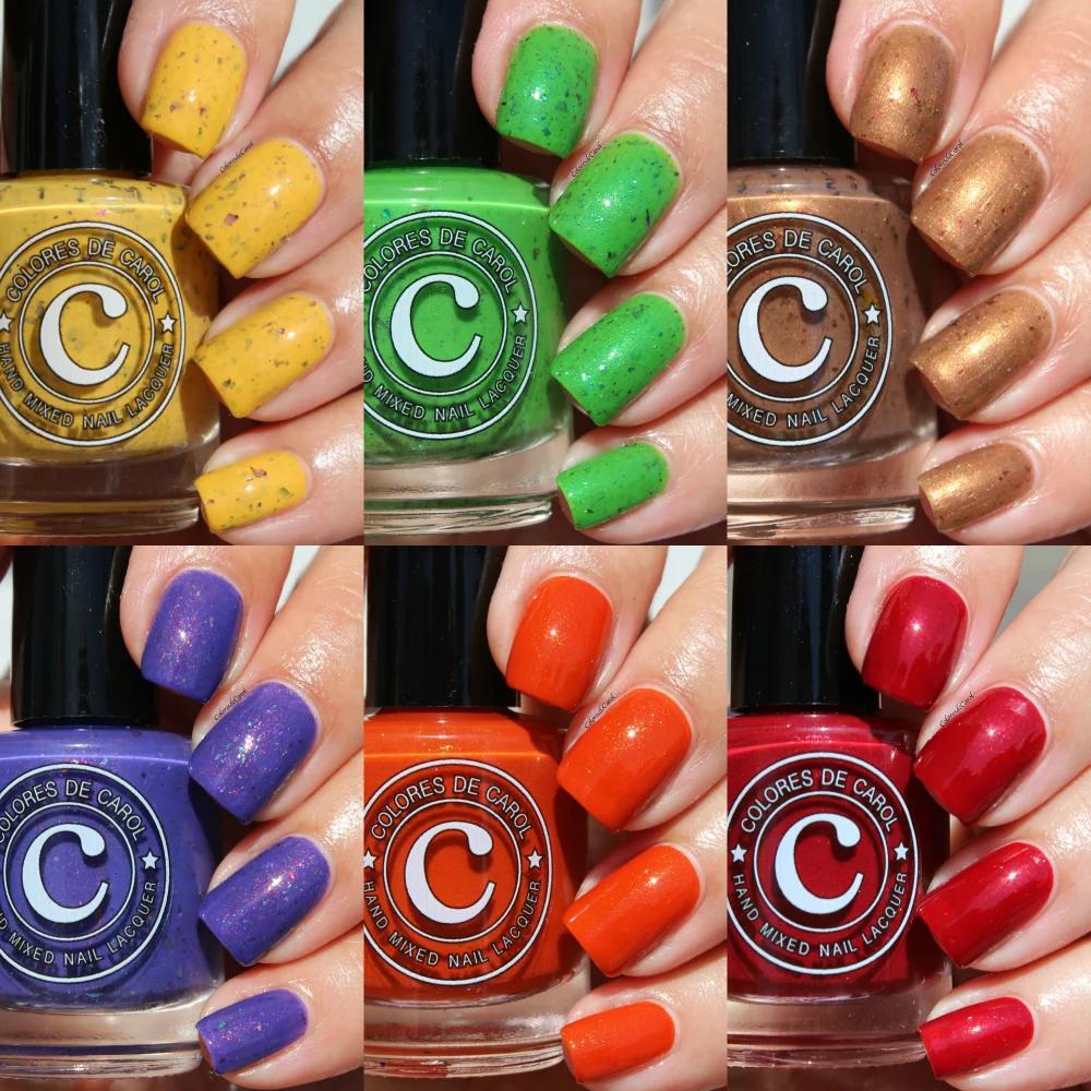 Home Colores de Carol Nail polish, Beauty samples