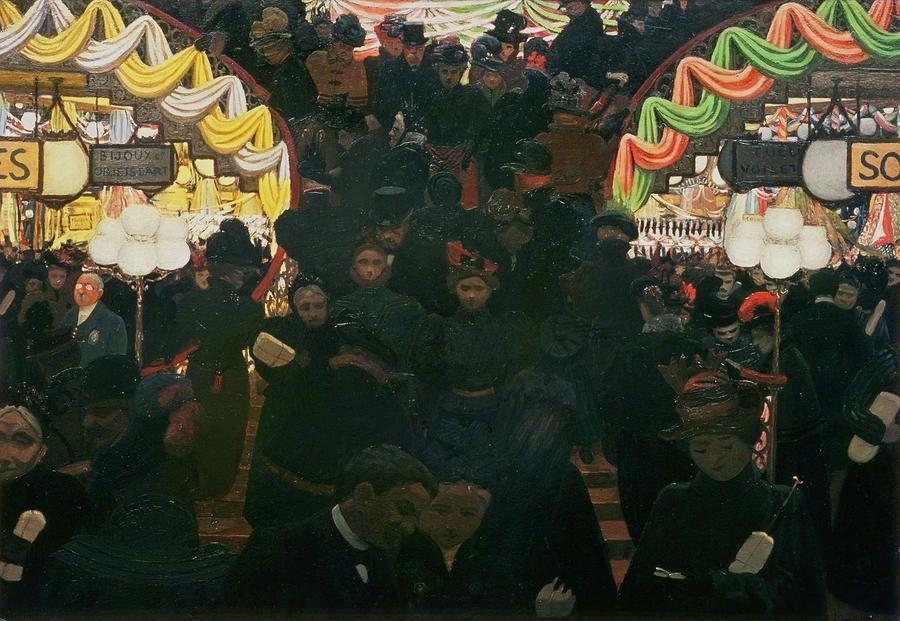 §§§ : Bon Marche : Felix Edouard Vallotton : 1898