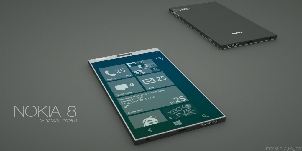 Windows Phone 8 Nokia Concept With