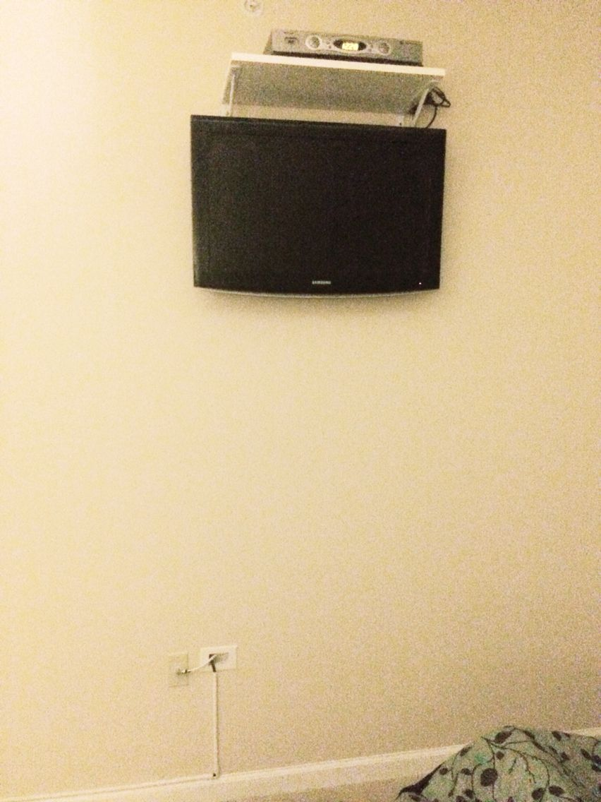 Hide mounted tv wires in wall | My DIY ideas | Pinterest | Mounted ...