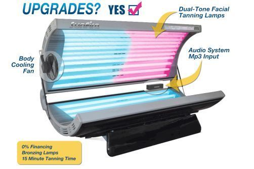 tanning beds and booths: wolff sunfire pro 24x with upgraded