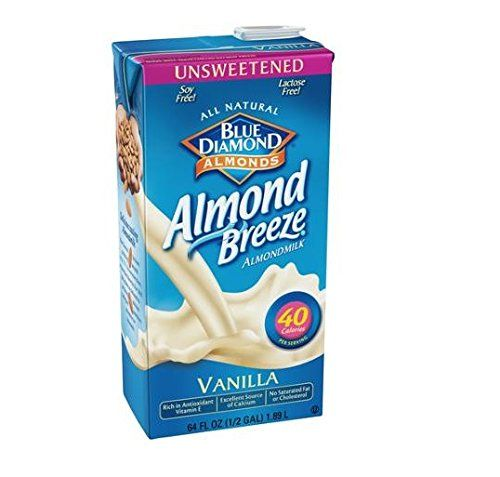 Blue Diamond Almond Breeze Unsweetened Vanilla 64 Oz (Pack of 8) *** You can get additional details at the image link.