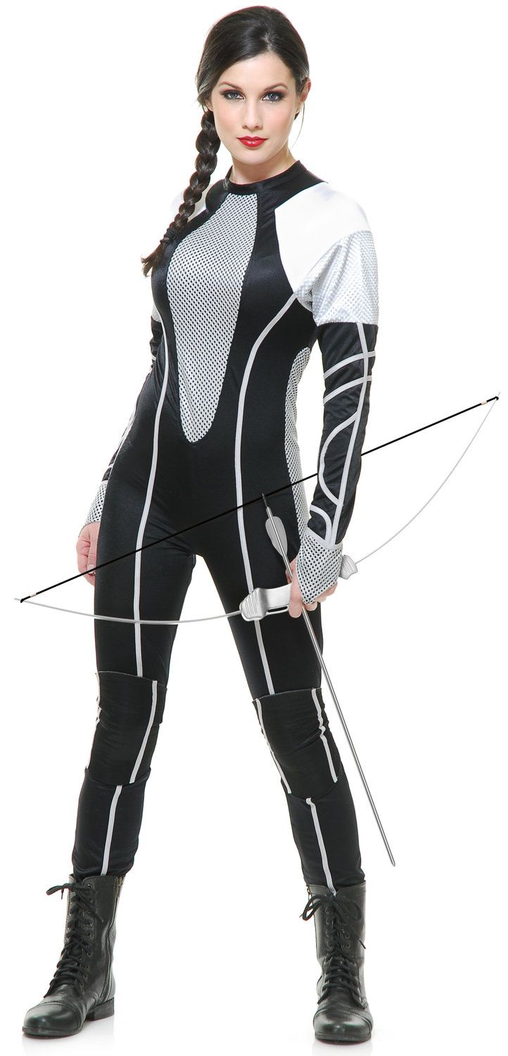 Hunger Games Huntress Movie Adult Costume Katniss Everdeen ...