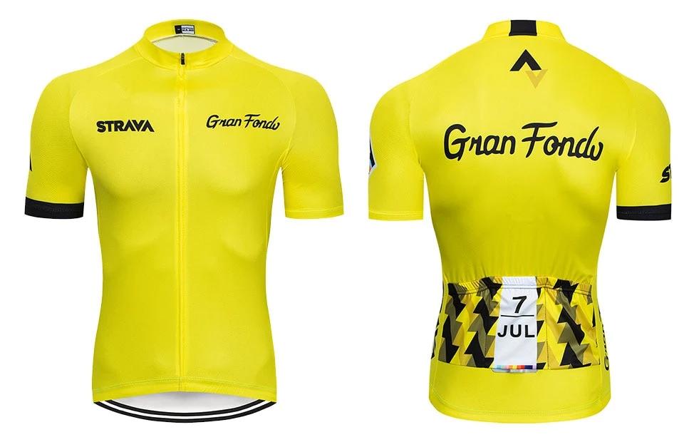 STRAVA Gran Fondo Cycling Jersey