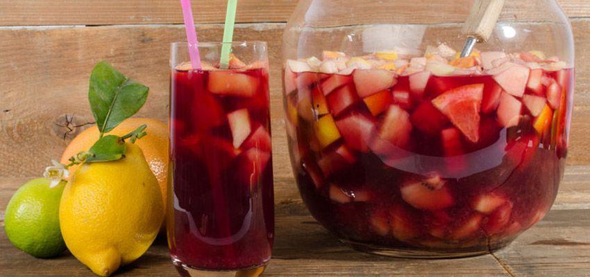Sangria Rezept | Sangria, Tapas and Happy hour