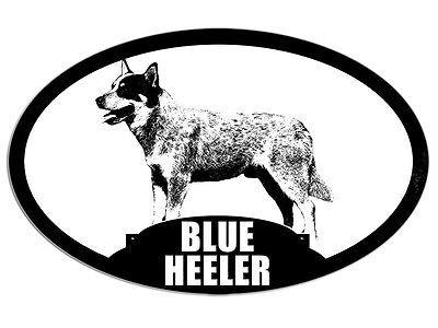 decal dog breed love k9 police 3x5 inch Oval GERMAN SHEPHERD Silhouette Sticker