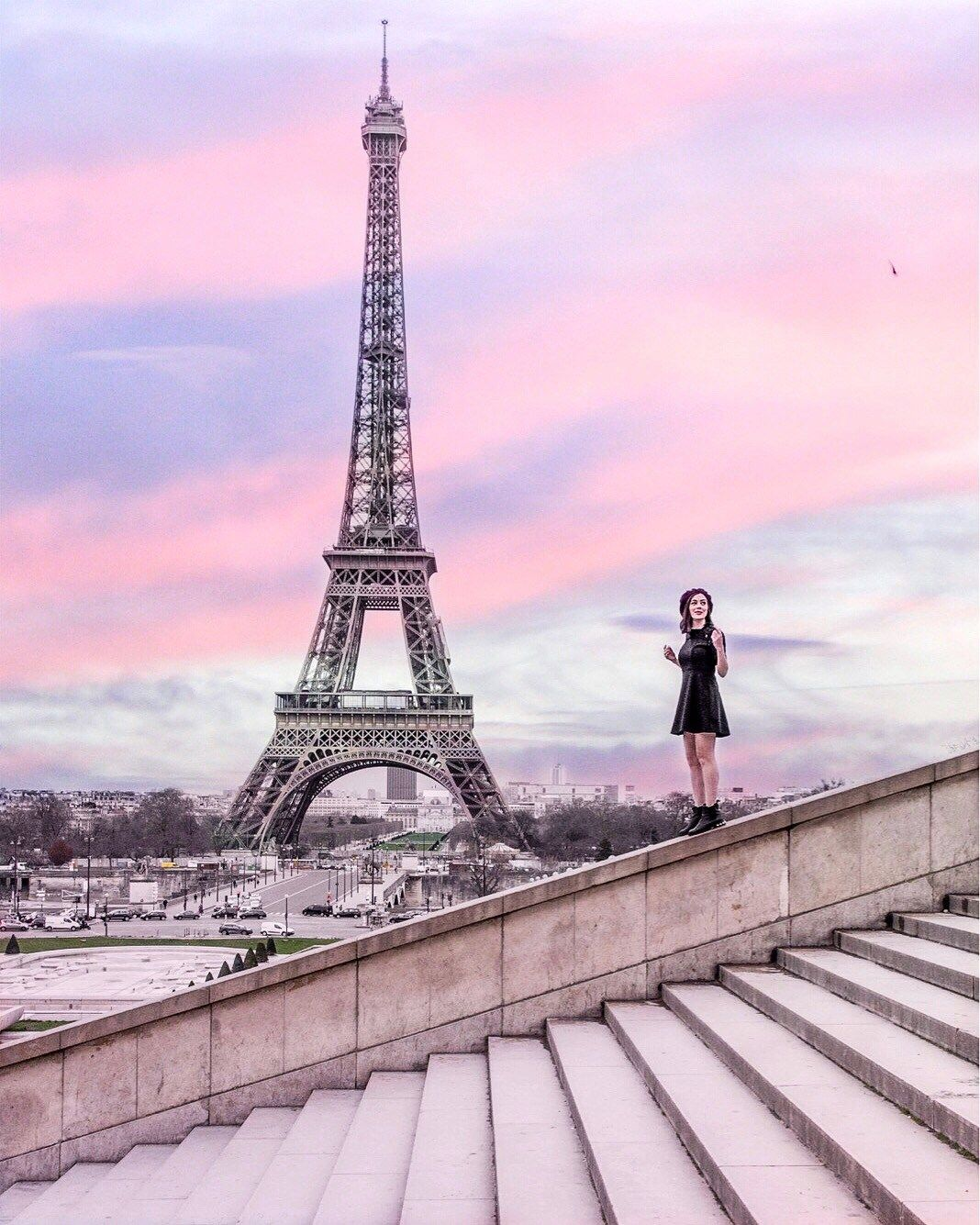THE MOST PHOTO WORTHY SPOTS IN PARIS - Gringa Journeys #eiffeltower