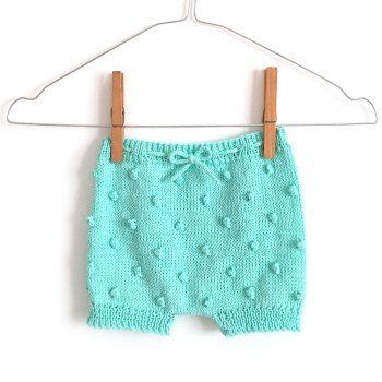 Jersey de bebé de punto bobo -Natural Baby | Patrones, Puntos y ...