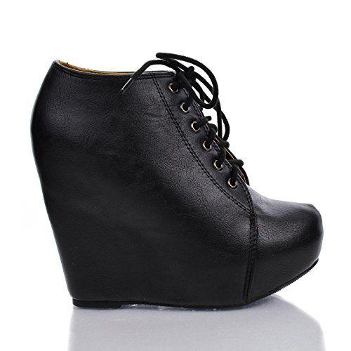 891f325e0b1 Tense10 Women Faux Fur Lining Combat Ankle Boots
