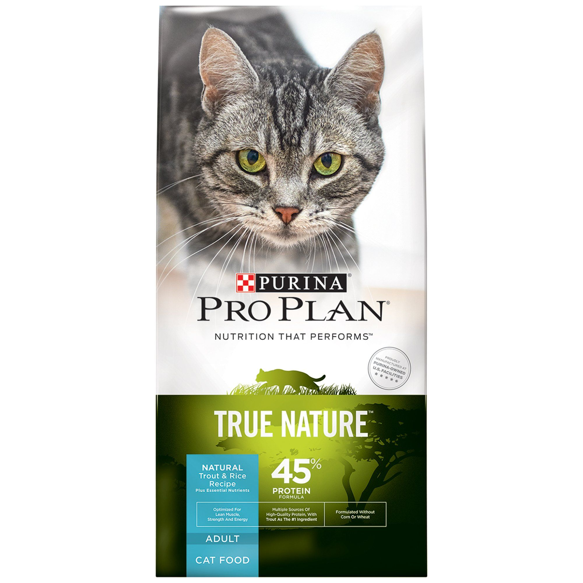 Pro Plan True Nature Trout Rice Adult Cat Food 6 Lbs Purina