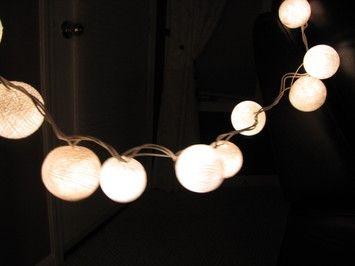 Brand New Sisal String Lights $165