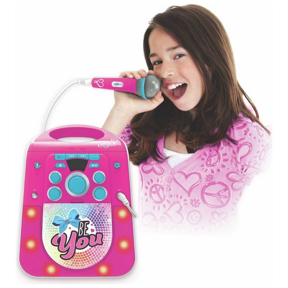 Buy Jojo Siwa Bluetooth CDG Karaoke Machine with Microphone | Karaoke machines #bestkaraokemachine