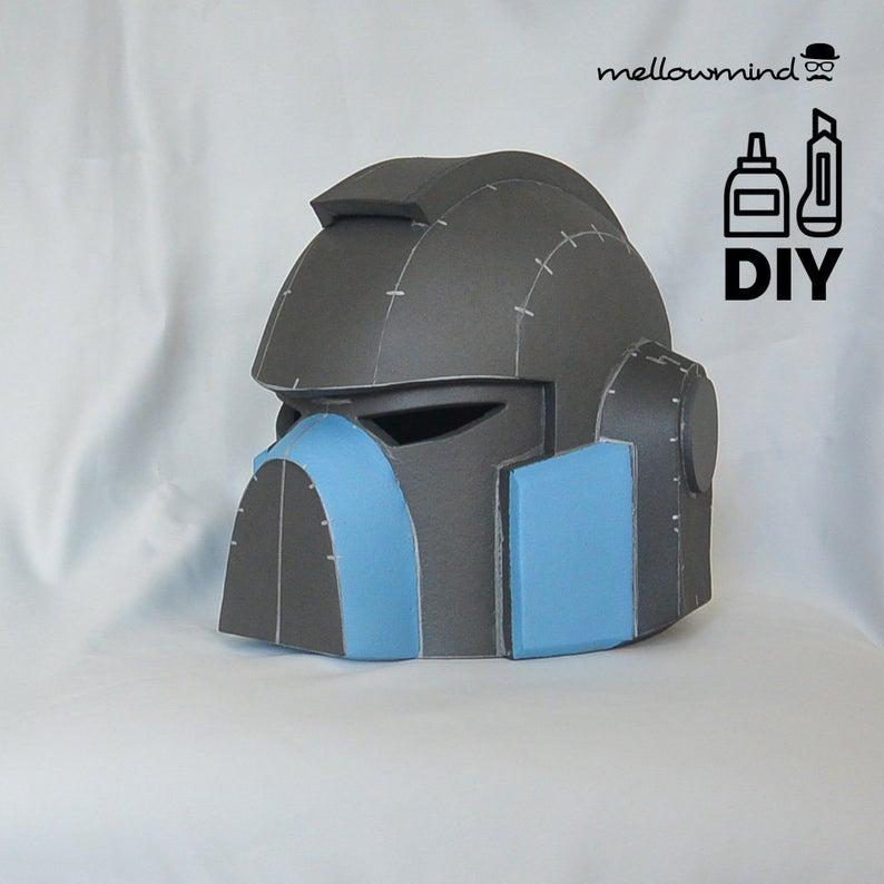 Diy Marine Helmet Template For Eva Foam Space Marine Foam Props Warhammer