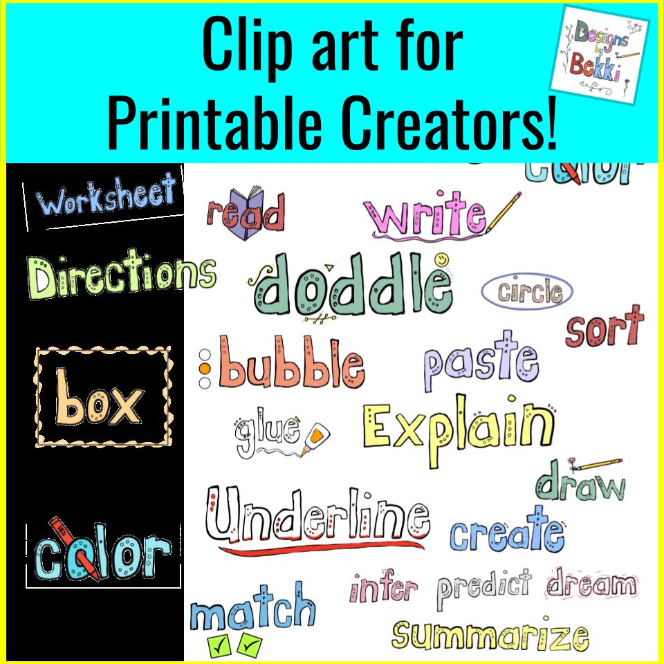 Clip Art for Teachers   Clip art [ 960 x 960 Pixel ]