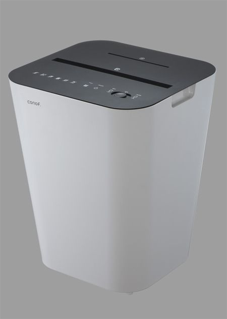 An actual decent looking paper shredder. By Conof.