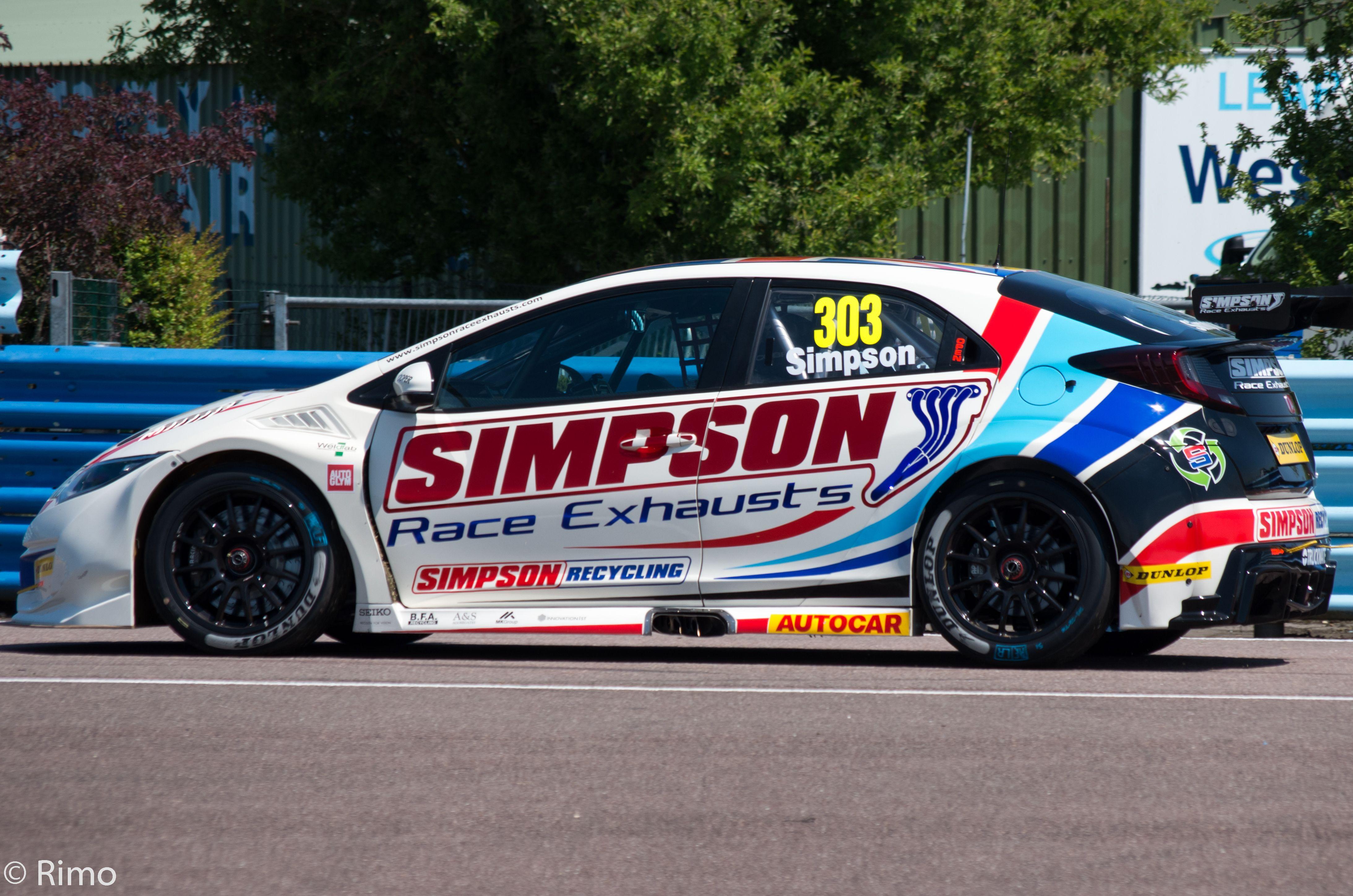 Pin On British Touring Car Championship