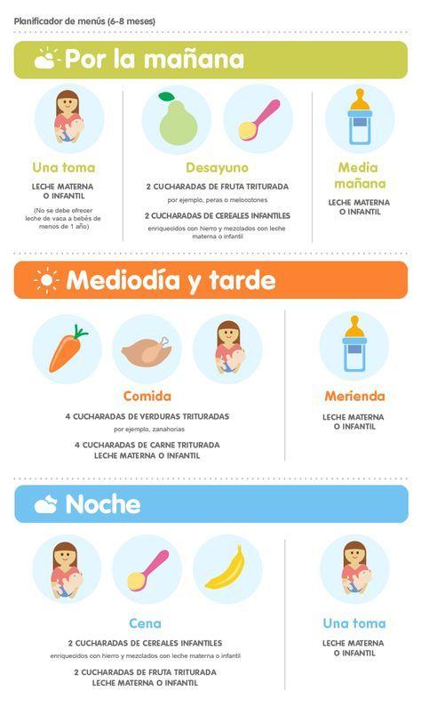 6 Meses Comida Bebe 6 Meses Alimentacion Bebe