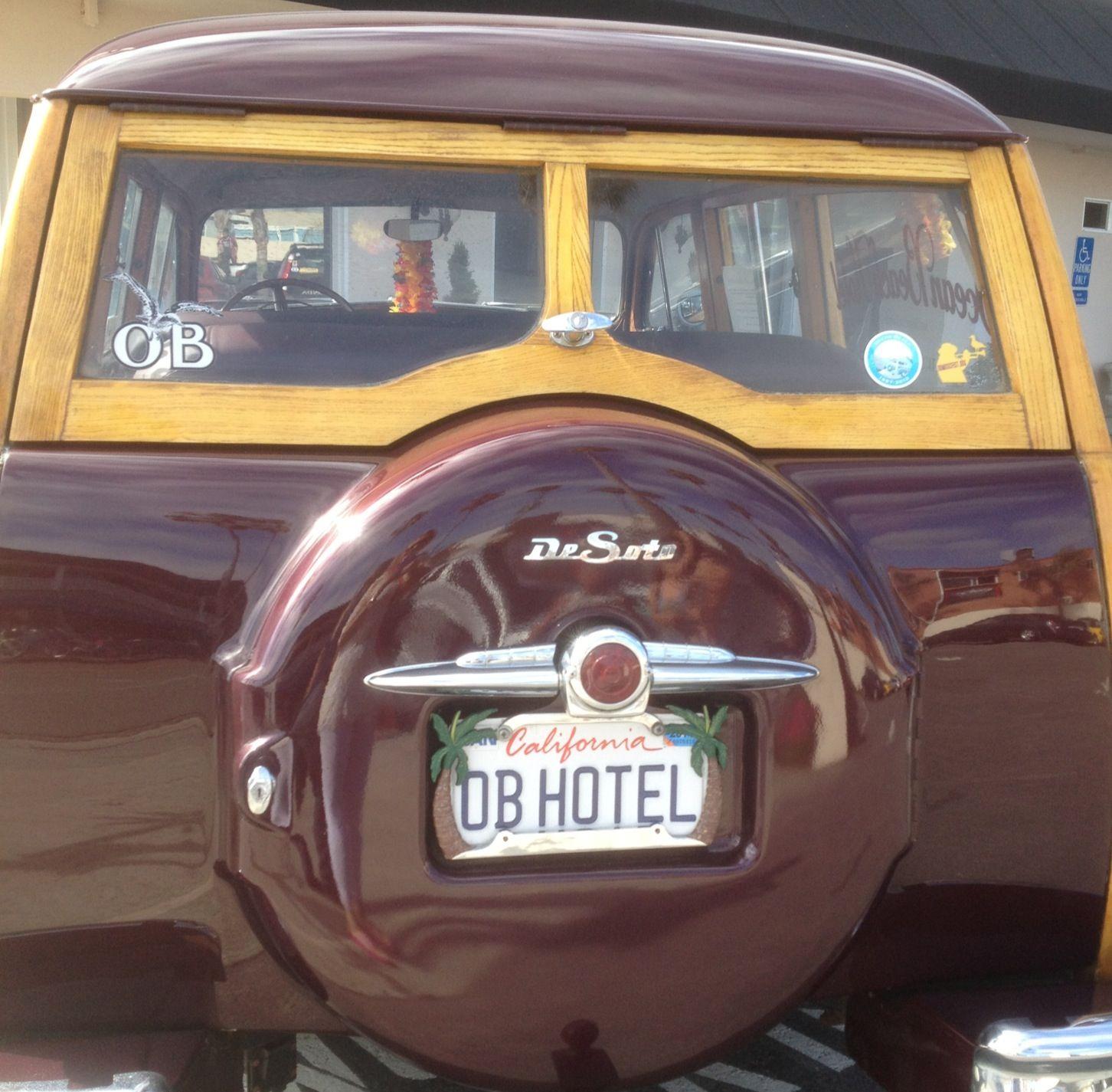 DeSoto classic 1949 woodie Ocean Beach Hotel | Car Classics ...