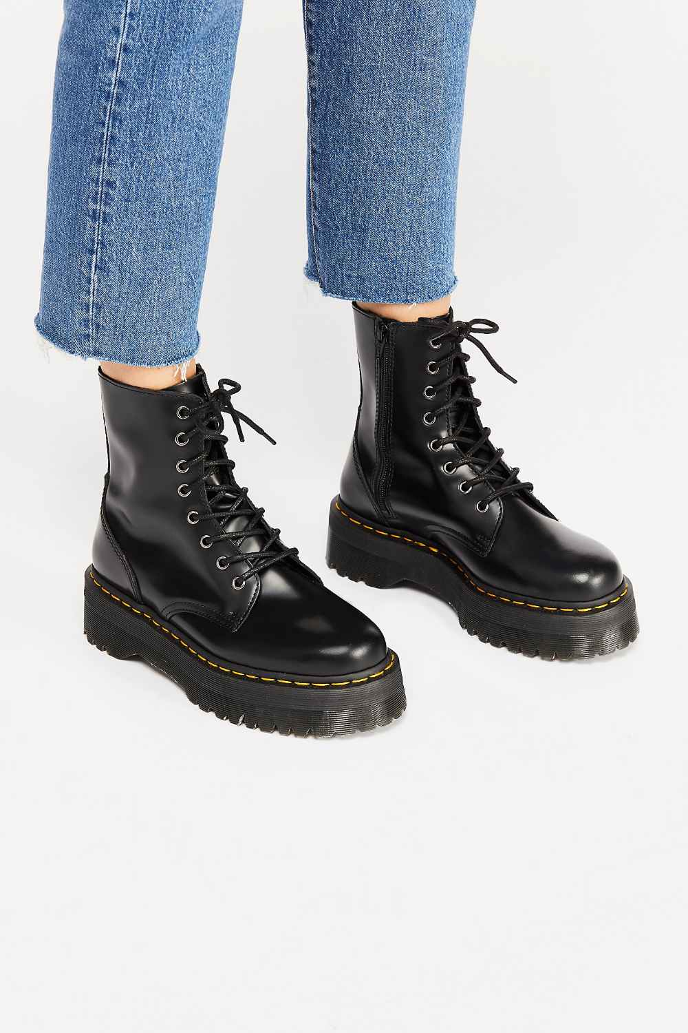 Dr. Martens Jadon Lace Up Boot in 2019 | Doc martens boots