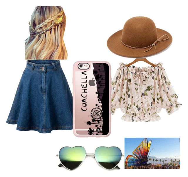 """coachella"" by swimminginbluewater on Polyvore featuring Casetify and RHYTHM"