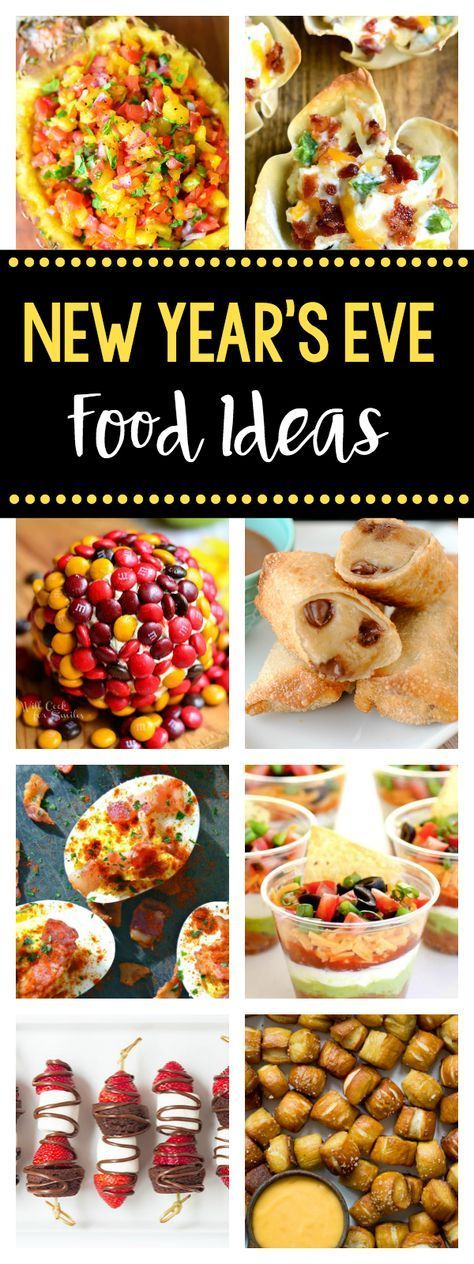 25 New Year's Eve Finger Foods (With images) New year's