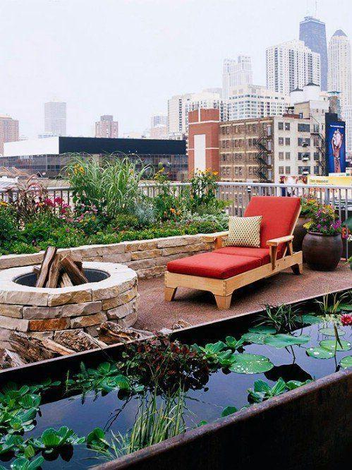 Wonderful Rooftop Garden Design For Home That Enchanting - SnapShot Magazine #erhöhtepflanzbeete