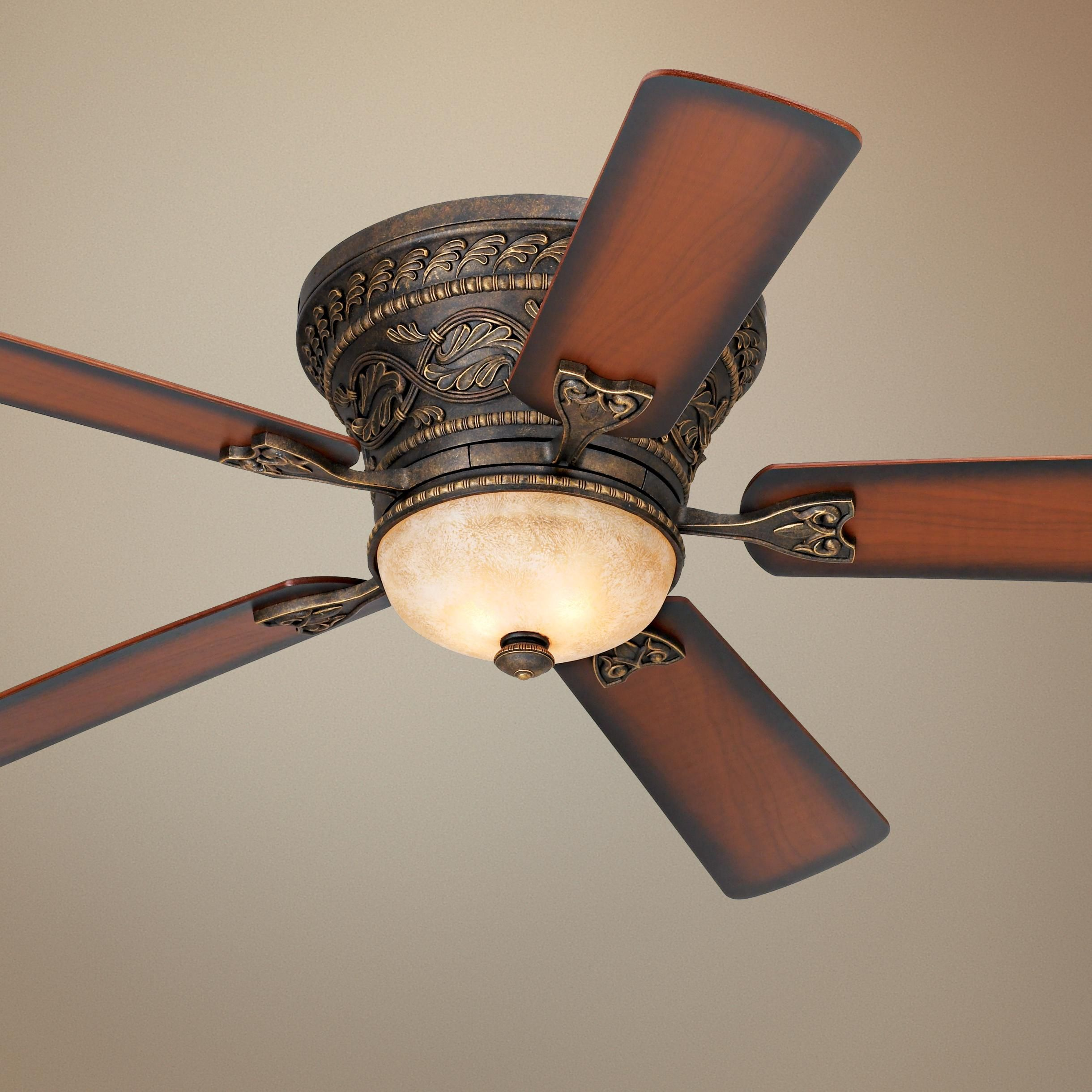 52 Casa Vieja Ancestry Hugger Ceiling Fan With Images