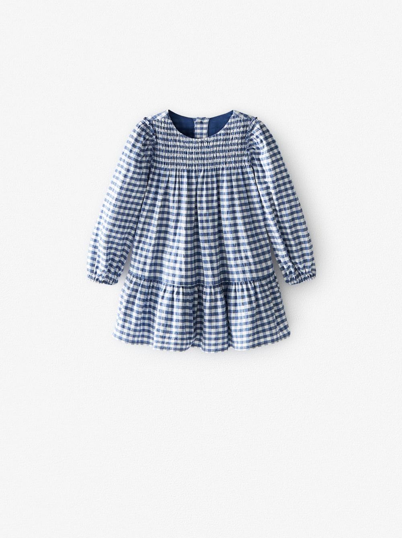 GINGHAM CORDUROY DRESS   ZARA United States in 2020   Baby ...