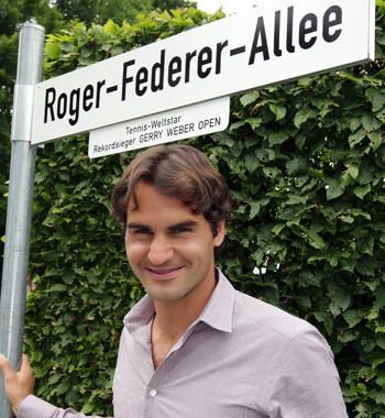 Roger Federer, Halle, June 2012