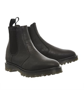 Dr. Martens Core 9729 Chelsea Boots Black Leather - Ankle Boots