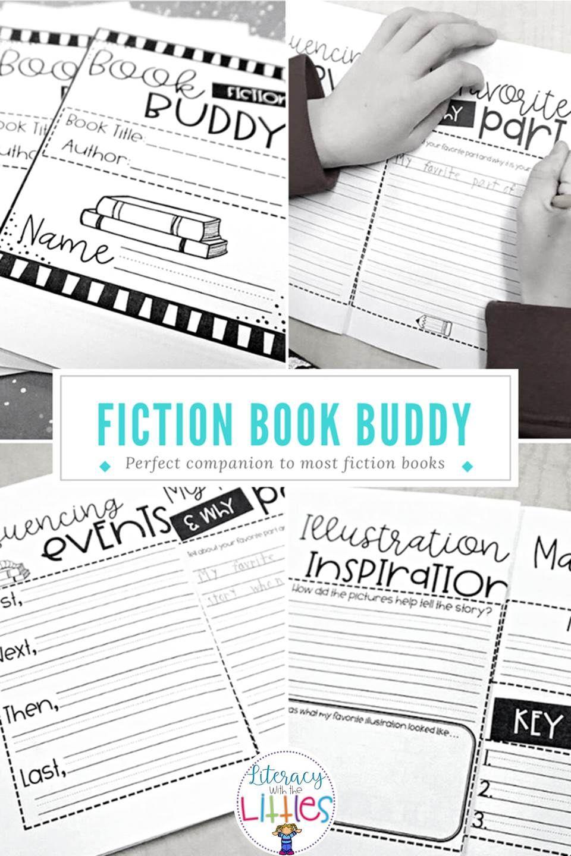 Fiction Book Buddy {A Comprehension Companion