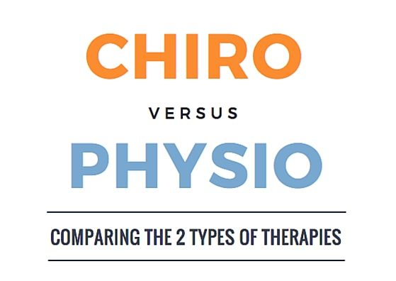 Image result for chiro vs physio