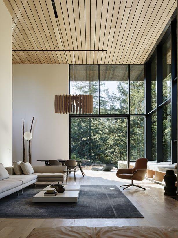 Living Room Wood Pendant Light, Modern Industrial Interior Style Chandelier, Mid Century Lampshade