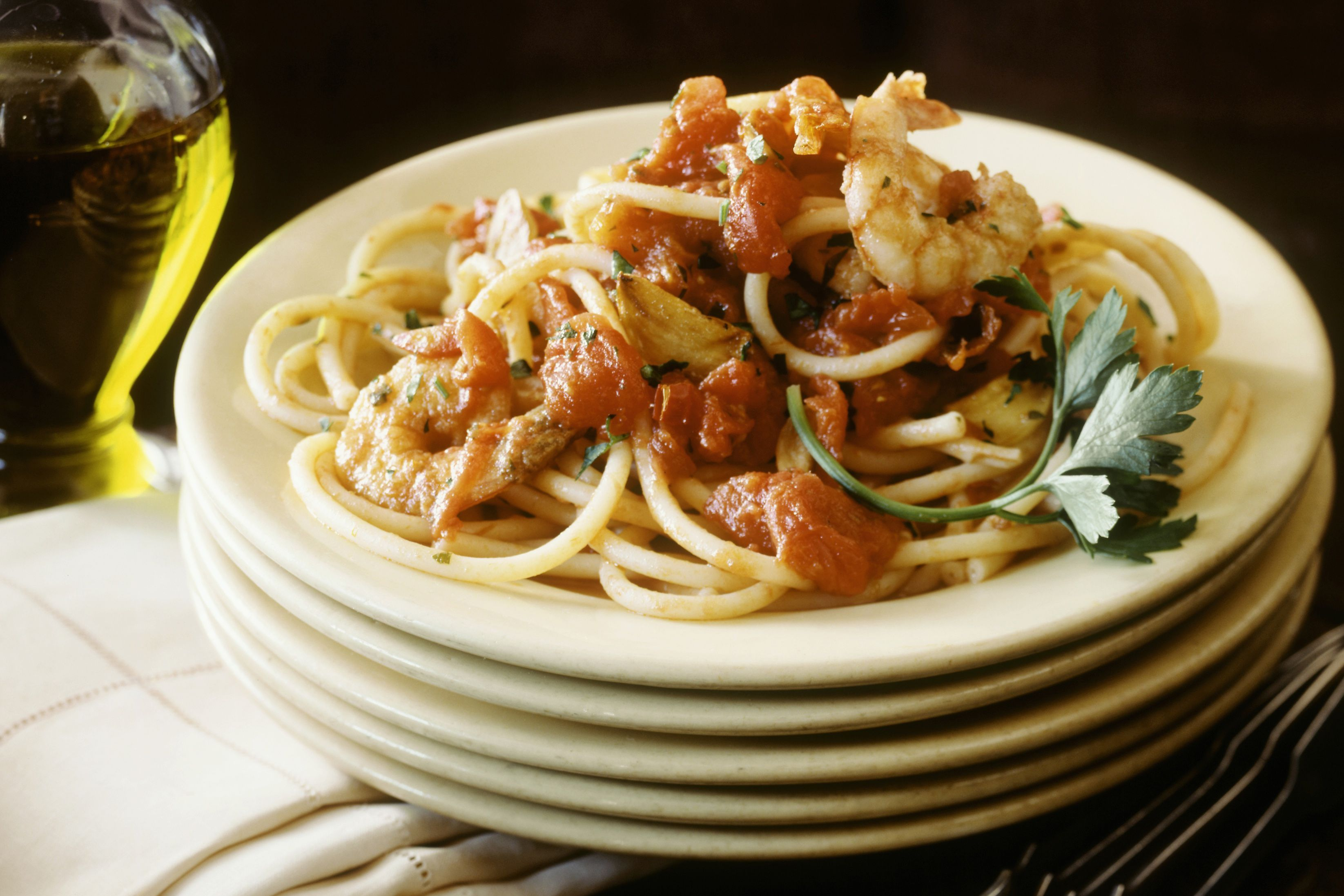 Easy Slow Cooker Shrimp in Marinara Sauce Recipe