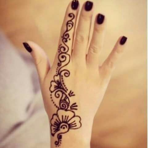Henna negra dise os con henna pinterest henna for Henna para manos