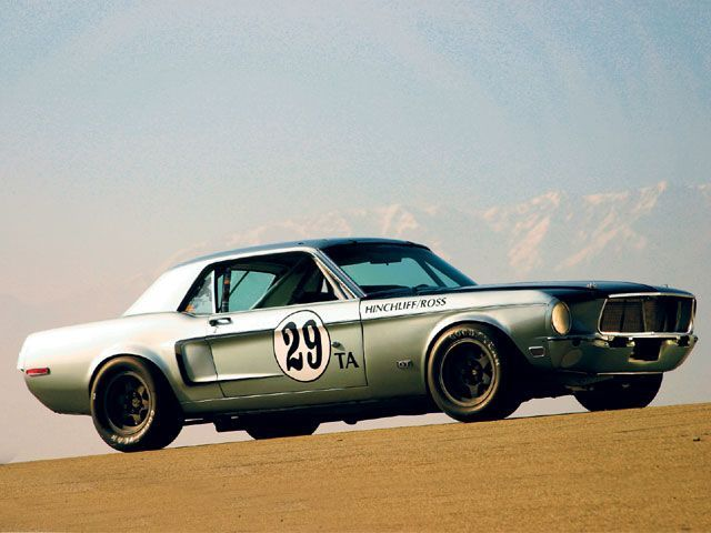 Nascar Mustang Side View