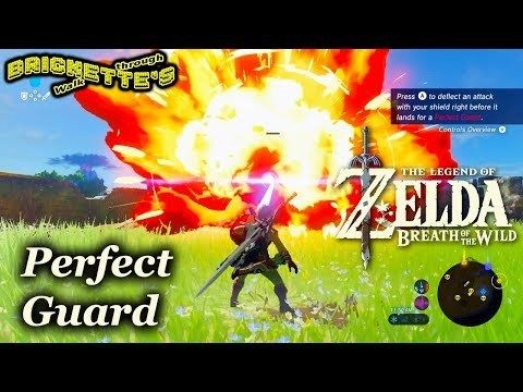 Perfect Guard Parry In Zelda Breath Of The Wild Easy Way To Get