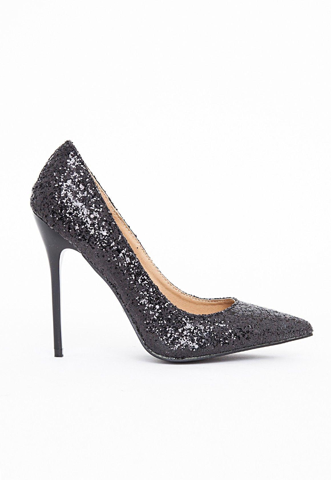 Parfaite Femme Chaussures Chaussures Noir Pointues À Talons