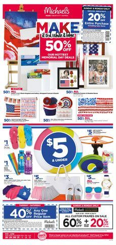 recipe: michaels weekly ad [24]