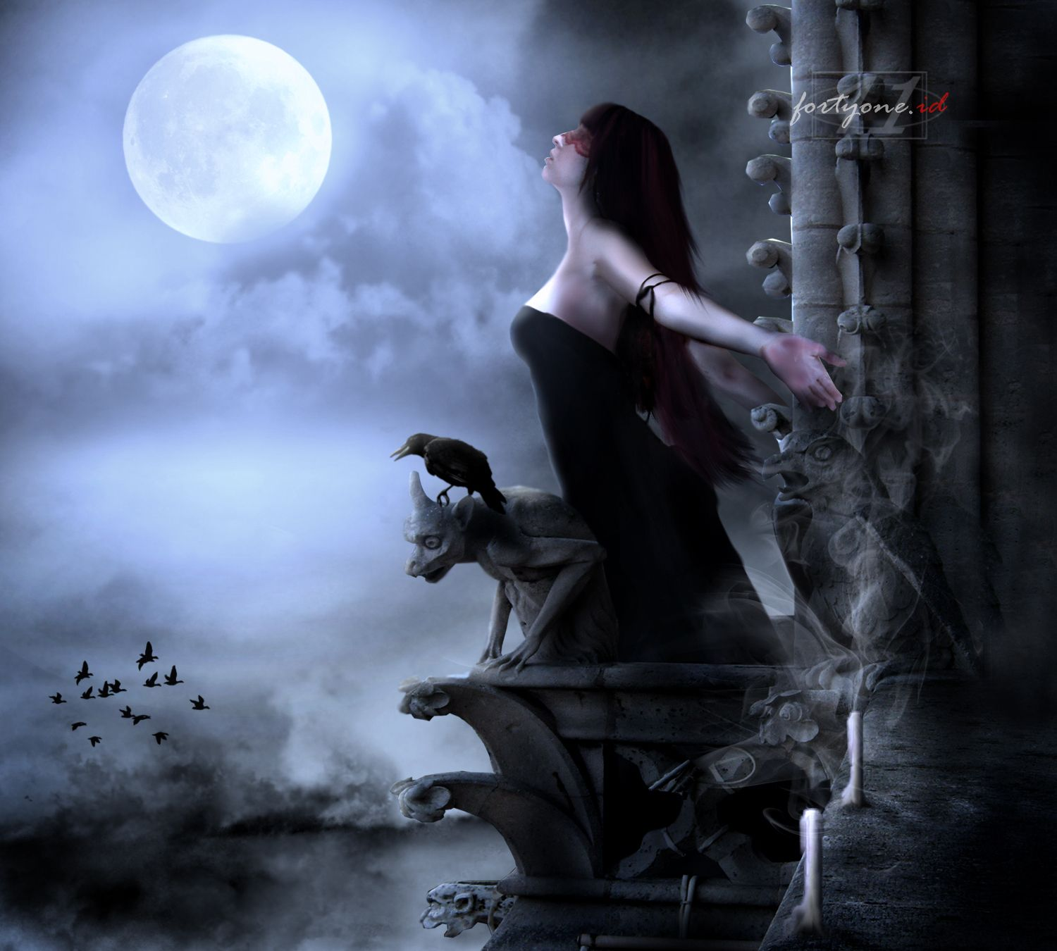 breathe | gothic girls | pinterest | wiccan and wallpaper