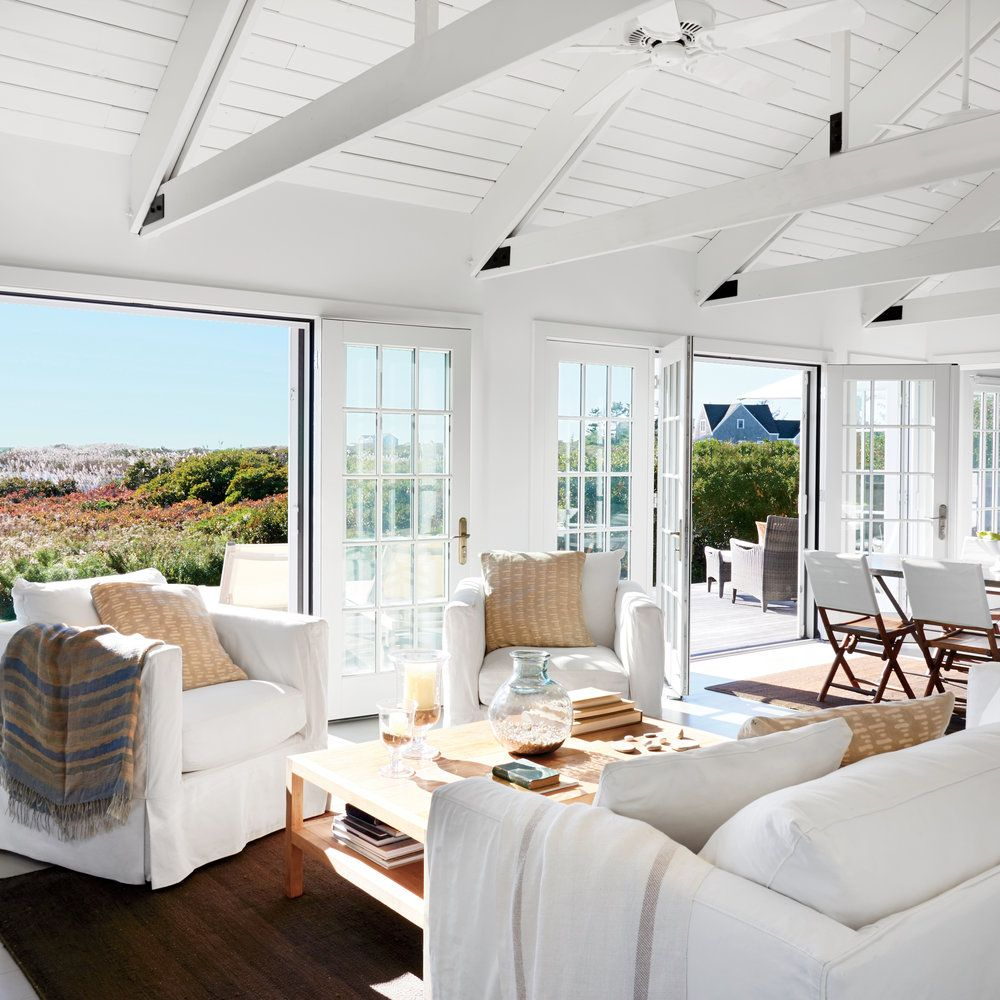 48 Living Rooms with Coastal Style | Seaside decor, Coastal style ...