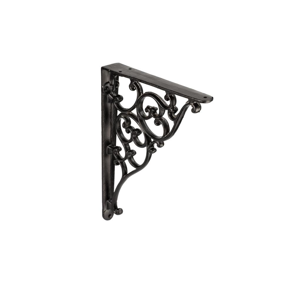 Richelieu Hardware 25 Lbs 8 1 16 In Forged Iron Matte Black