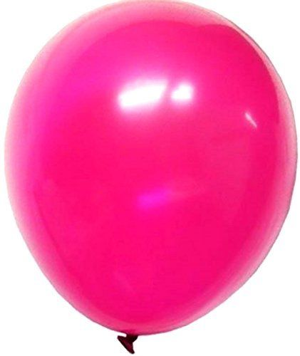 """Custom, Fun & Cool {Big Large Size 12"""" Inch} 72 Pack of Helium & Air Inflatable Latex Rubber Balloons w/ Girly Design [in Hot Pink Color] mySimple Products"""
